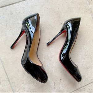 Christian Louboutin Fifi Fifille Black Pumps 100mm